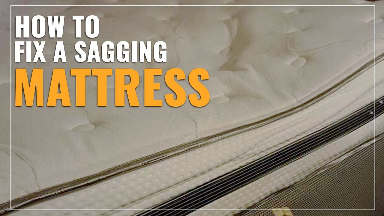 Tempurpedic Mattress Reviews >> How To Fix A Sagging Mattress (Easy Tips & Tricks)