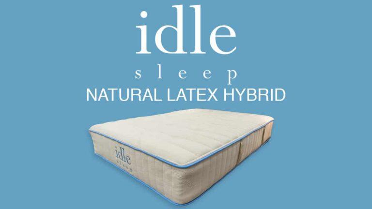 IDLE Sleep Latex Mattress Review