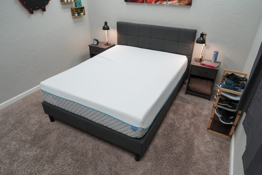 Idle Sleep Gel Foam Mattress Review Overhead