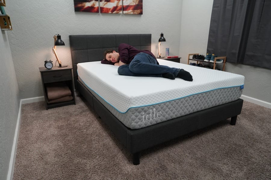 Idle Sleep Gel Foam Mattress Review Side Sleeper JD