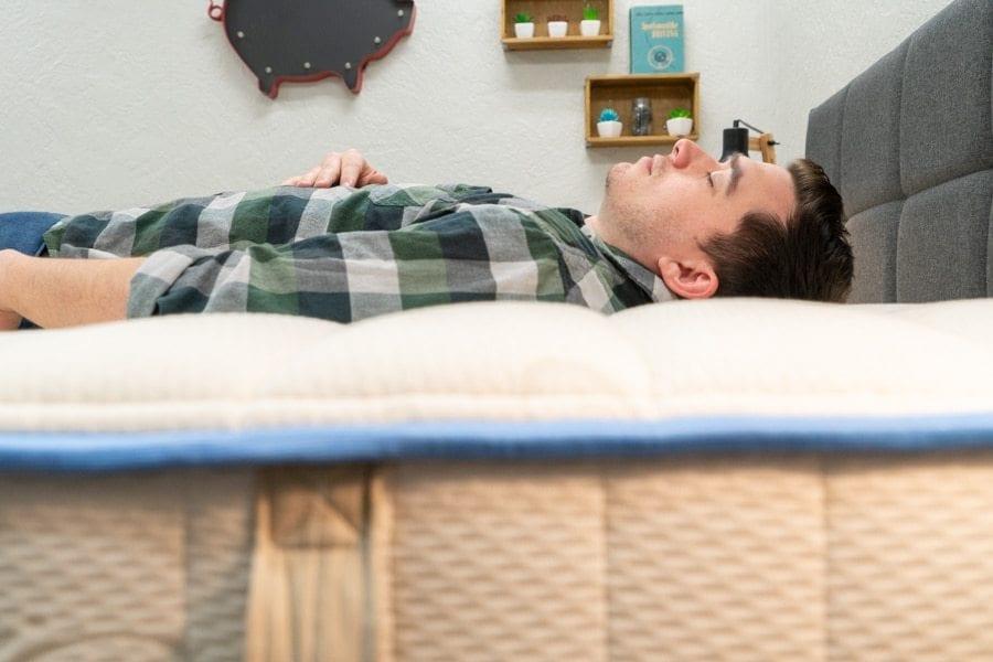 Idle Sleep Latex Hybrid Mattress Review Back Sleeper