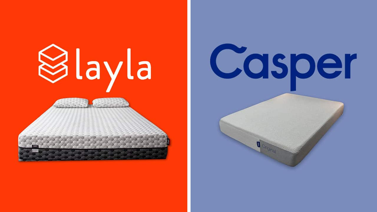 Layla vs Casper Mattress