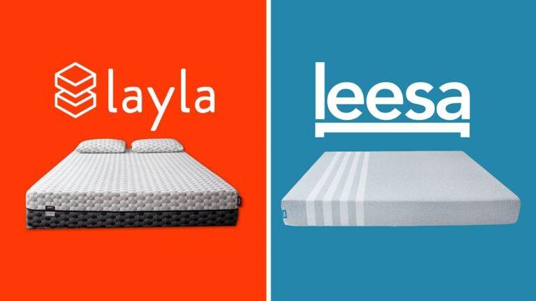 Layla vs Leesa Mattress