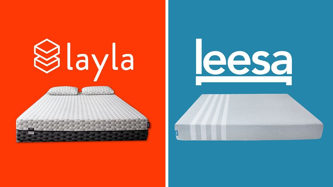 Layla vs Leesa Mattress