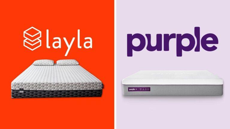 Layla vs Purple Mattress
