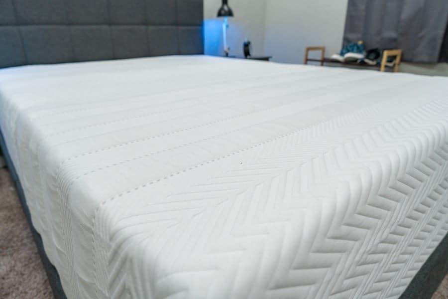 leesa legend mattress review organic cotton wool cover
