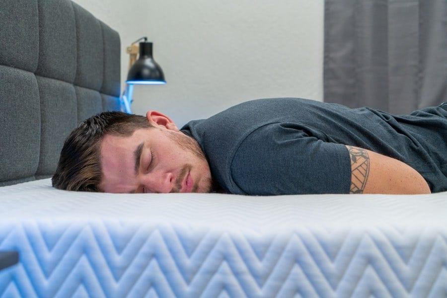 leesa legend mattress review stomach sleeper