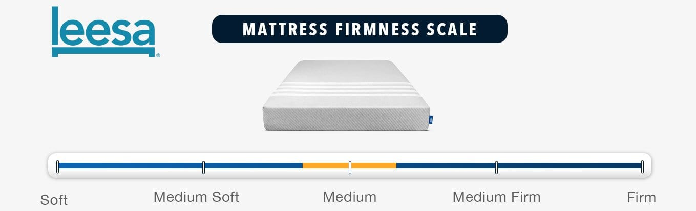 leesa mattress review firmness and feel