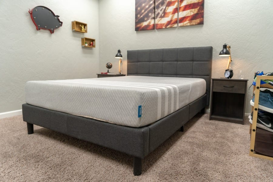 leesa mattress review foam bed in a box