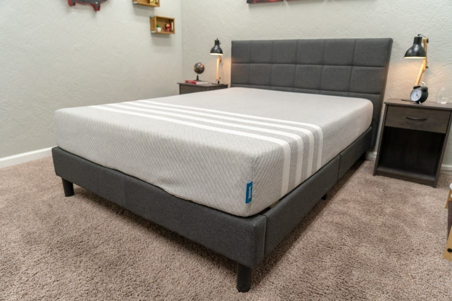 leesa mattress review foam bed in a box