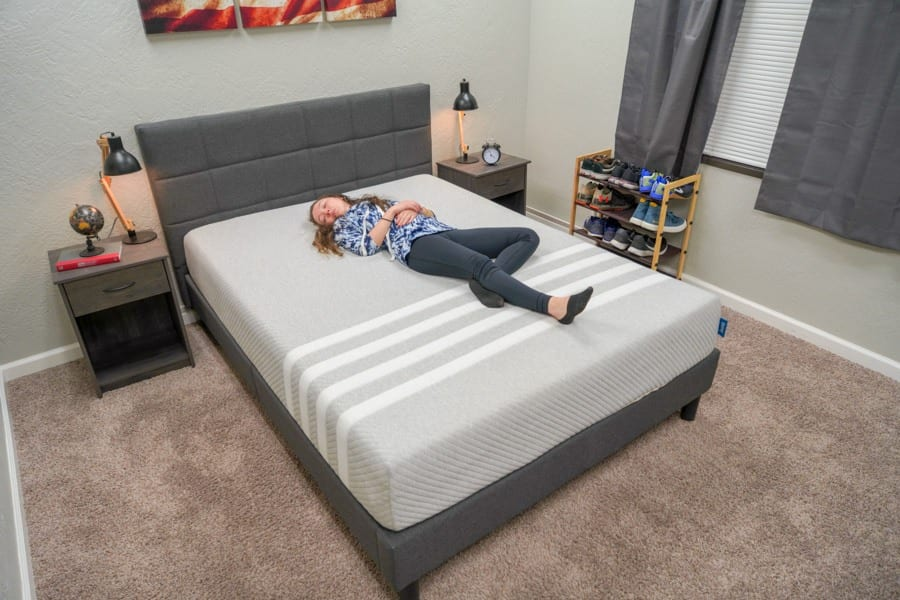 leesa mattress review foam bed in a box back sleepers