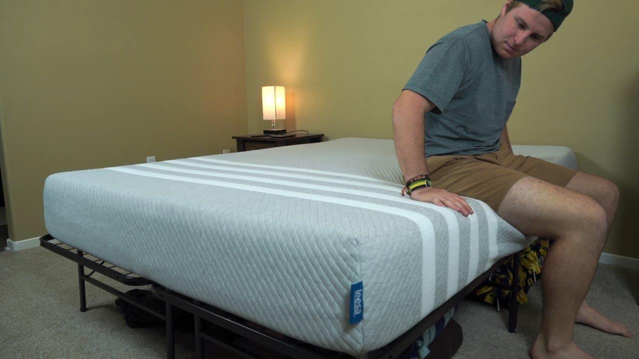 leesa mattress review edge support