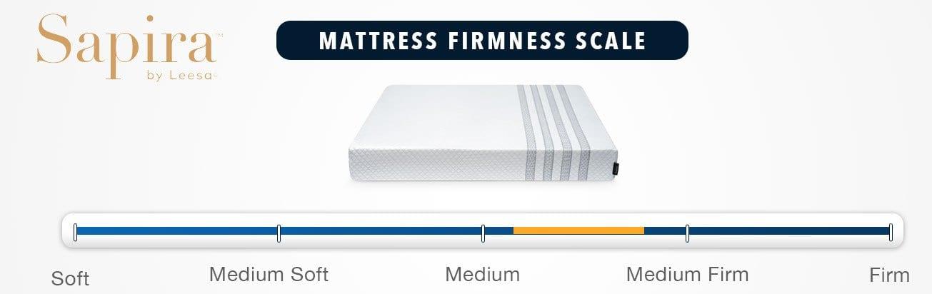 leesa sapira mattress review firmness and feel