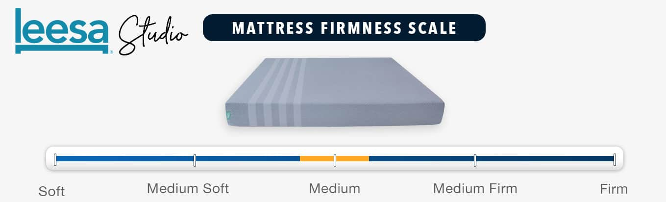leesa studio mattress firmness