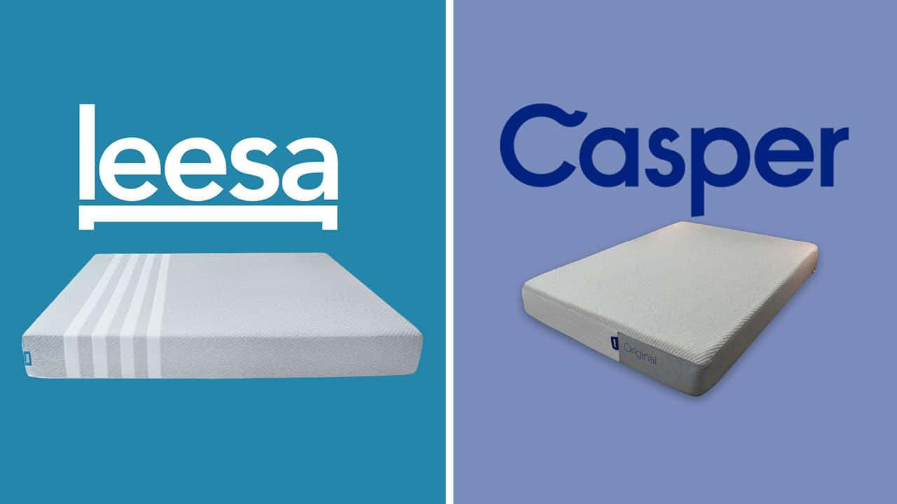Leesa vs. Casper Mattress Comparison