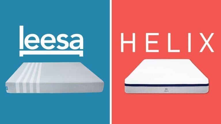 Leesa vs Helix Sleep Mattress