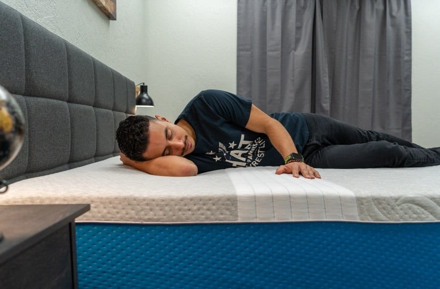 level sleep mattress review side sleeper
