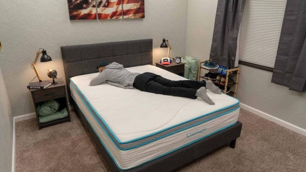 linenspa memory foam mattress review stomach sleeper