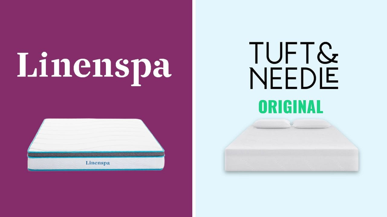 Linenspa vs Tuft and Needle Mattress