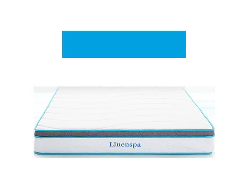 Linenspa 8 Inch Memory Foam Hybrid