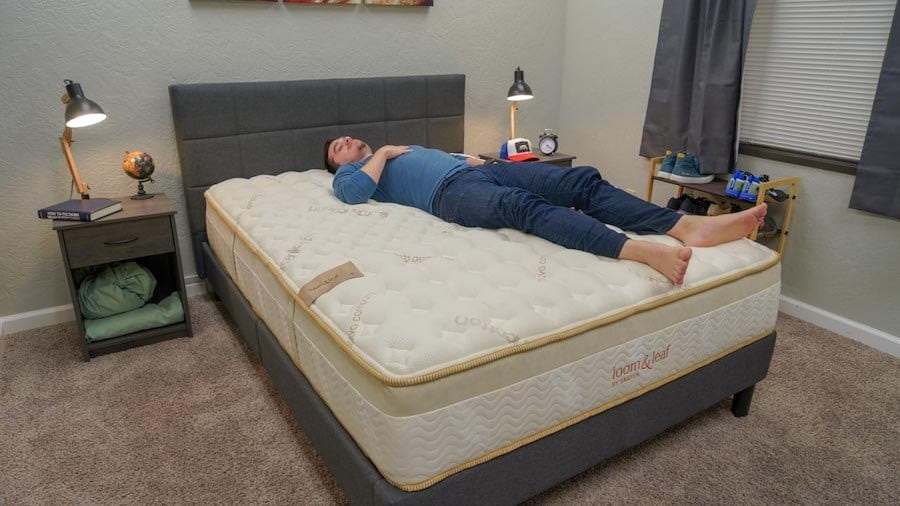 loom and leaf mattress review back sleepers