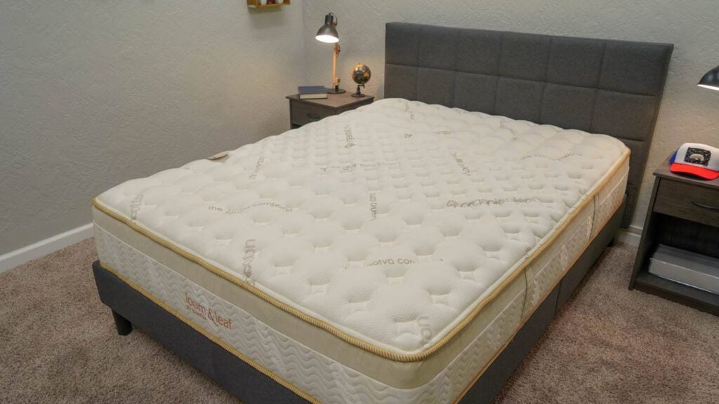 loom and leaf mattress review cover
