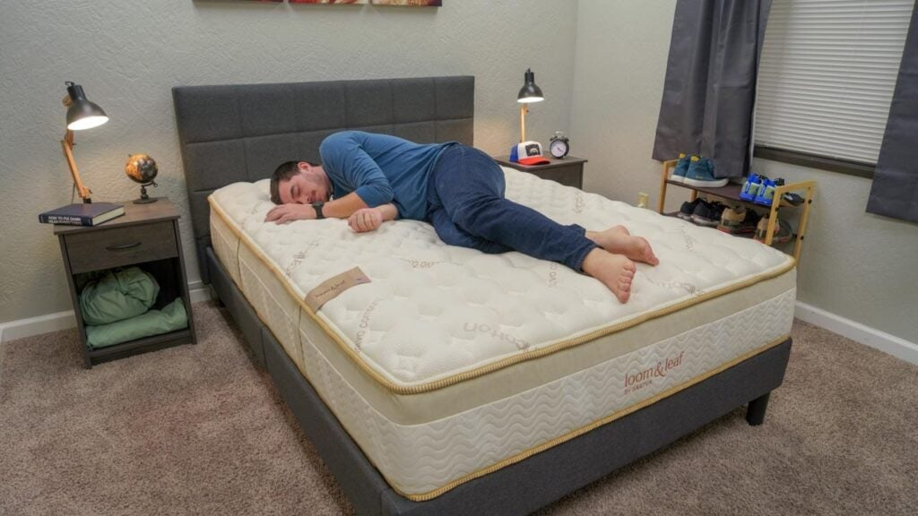 loom and leaf mattress review side sleepers