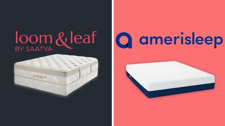 Loom and Leaf vs Amerisleep Mattress