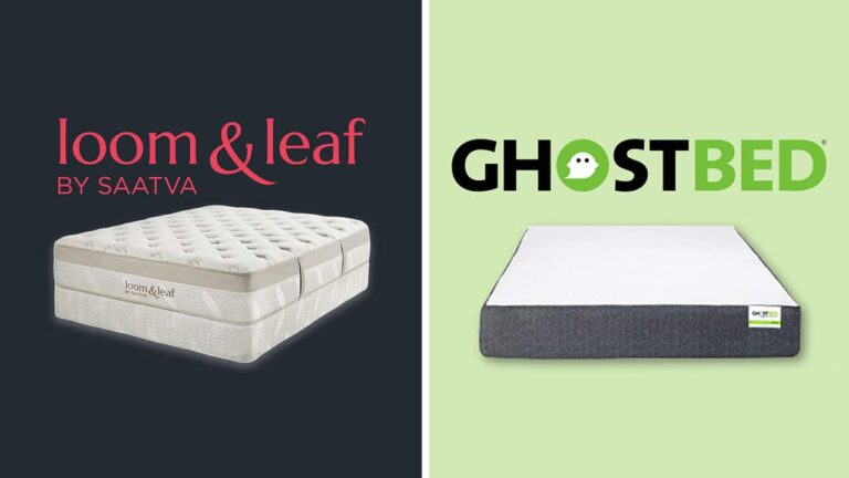 Loom and Leaf vs GhostBed Mattress