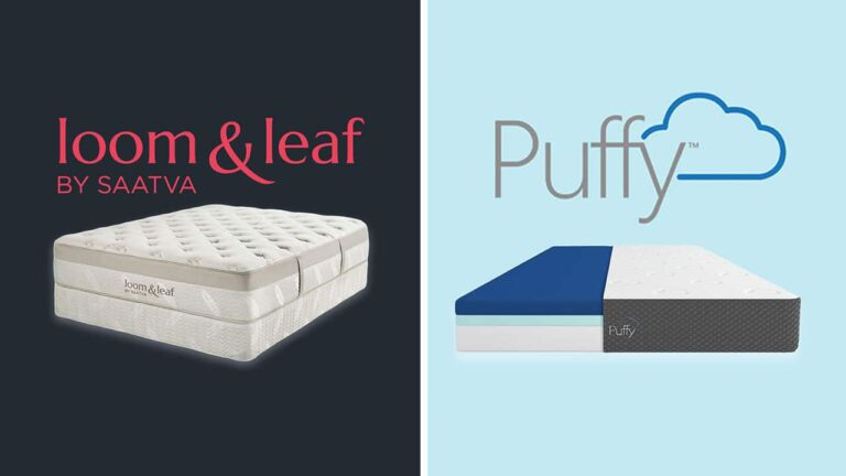 Loom and Leaf vs Puffy Mattress