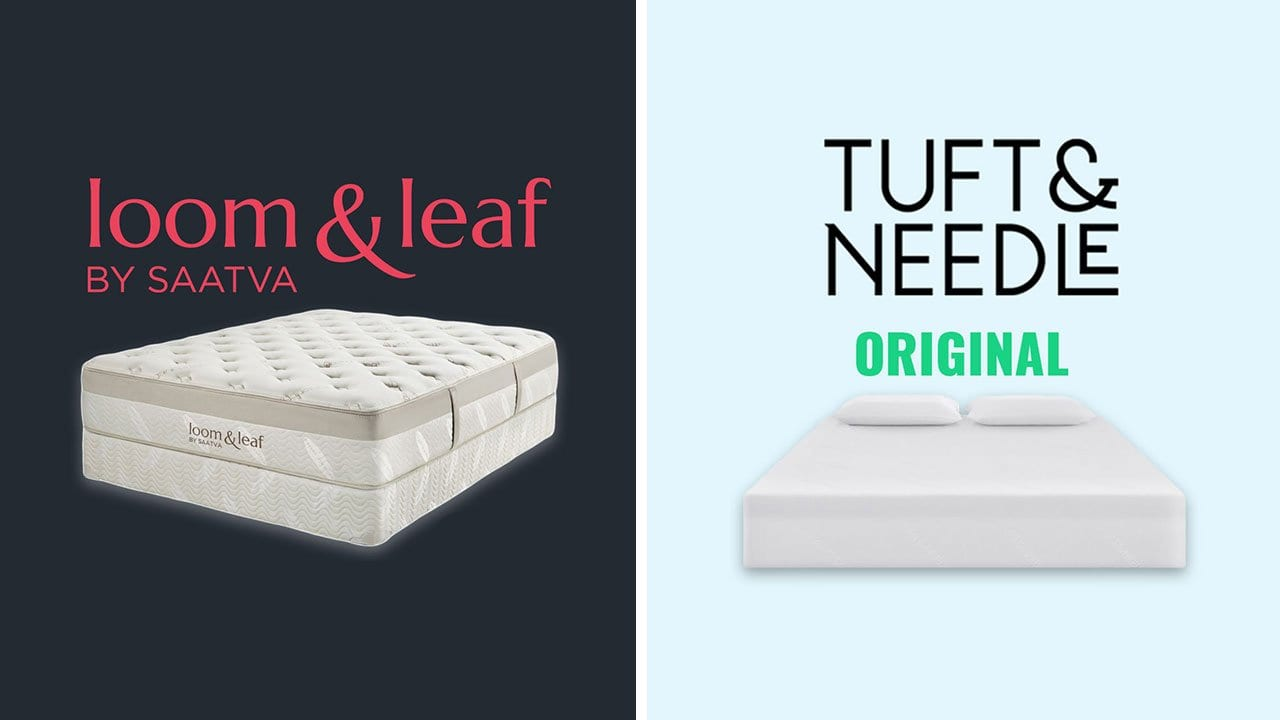 Loom and Leaf vs Tuft and Needle Mattress