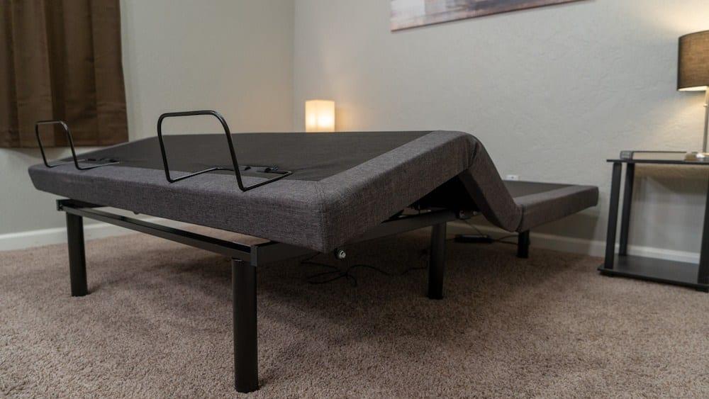 lucid adjustable bed frame review l300
