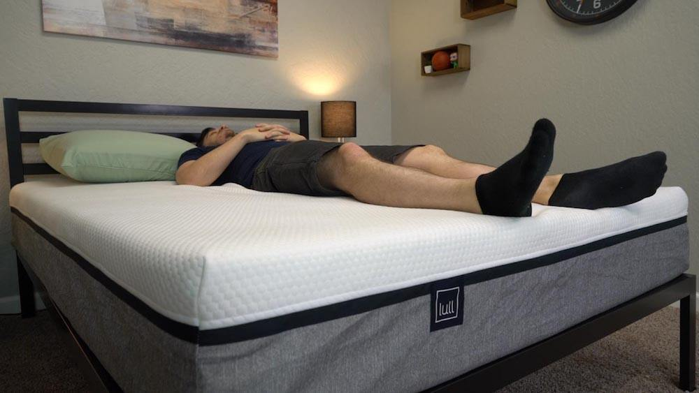 lull mattress review back and stomach sleepers