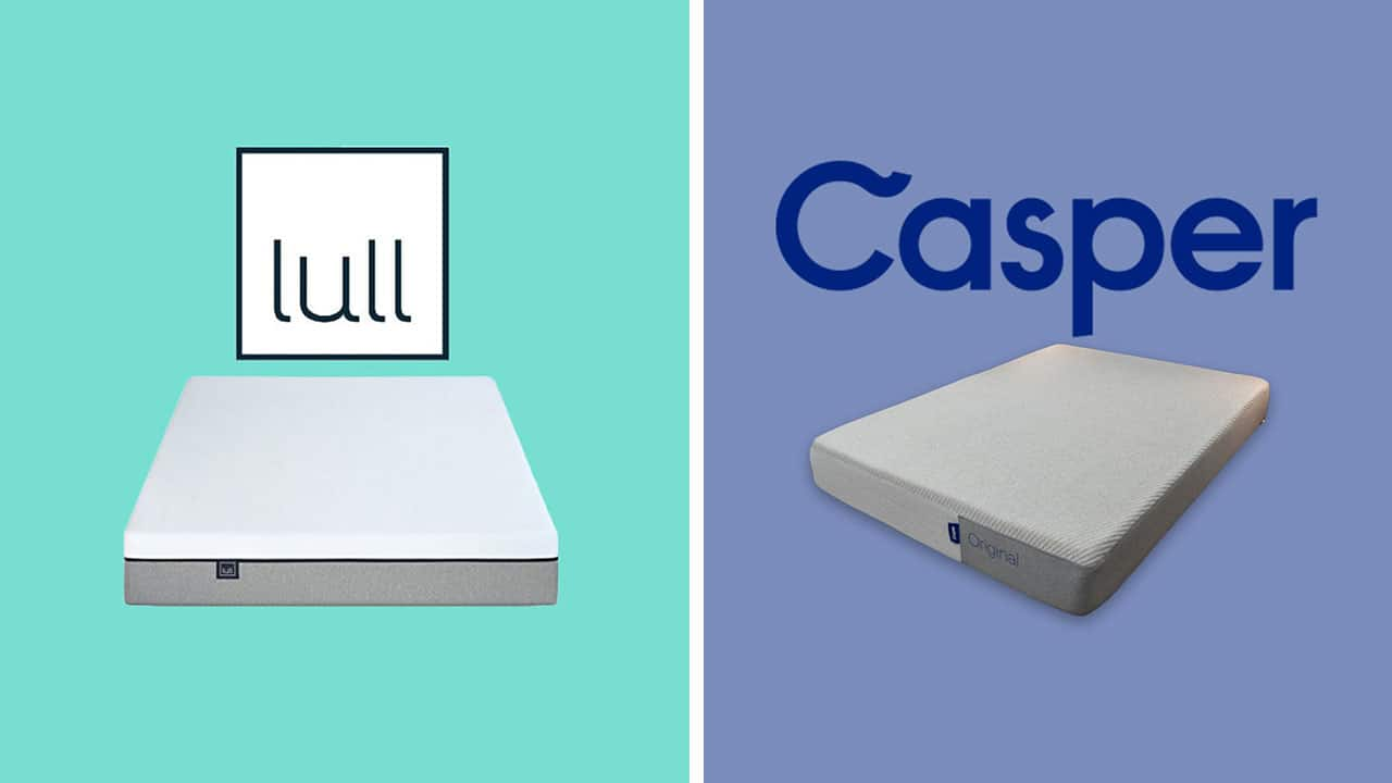 lull vs casper mattress comparison