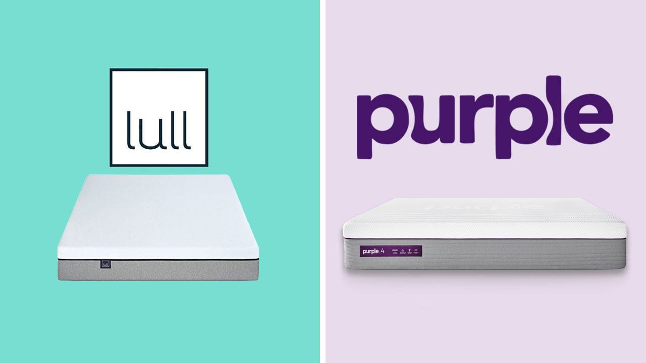 lull vs purple mattress review