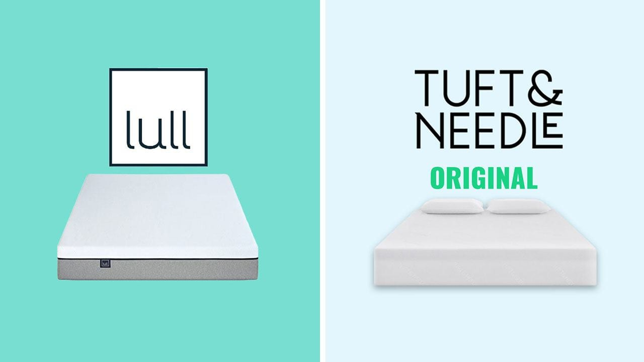 lull vs tuft and needle mattress review