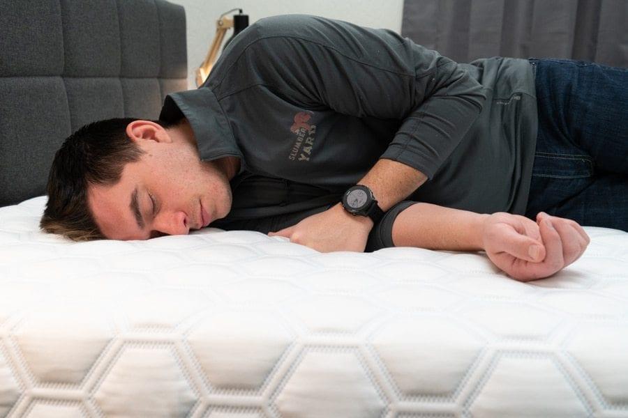 molecule 2 mattress review back sleeper