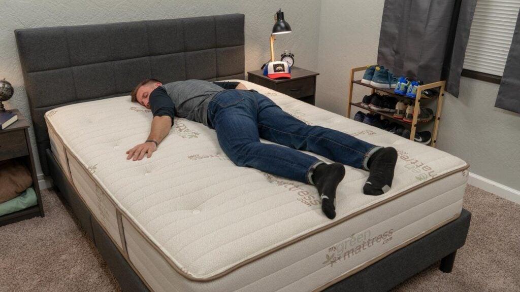 my green mattress stomach sleeper