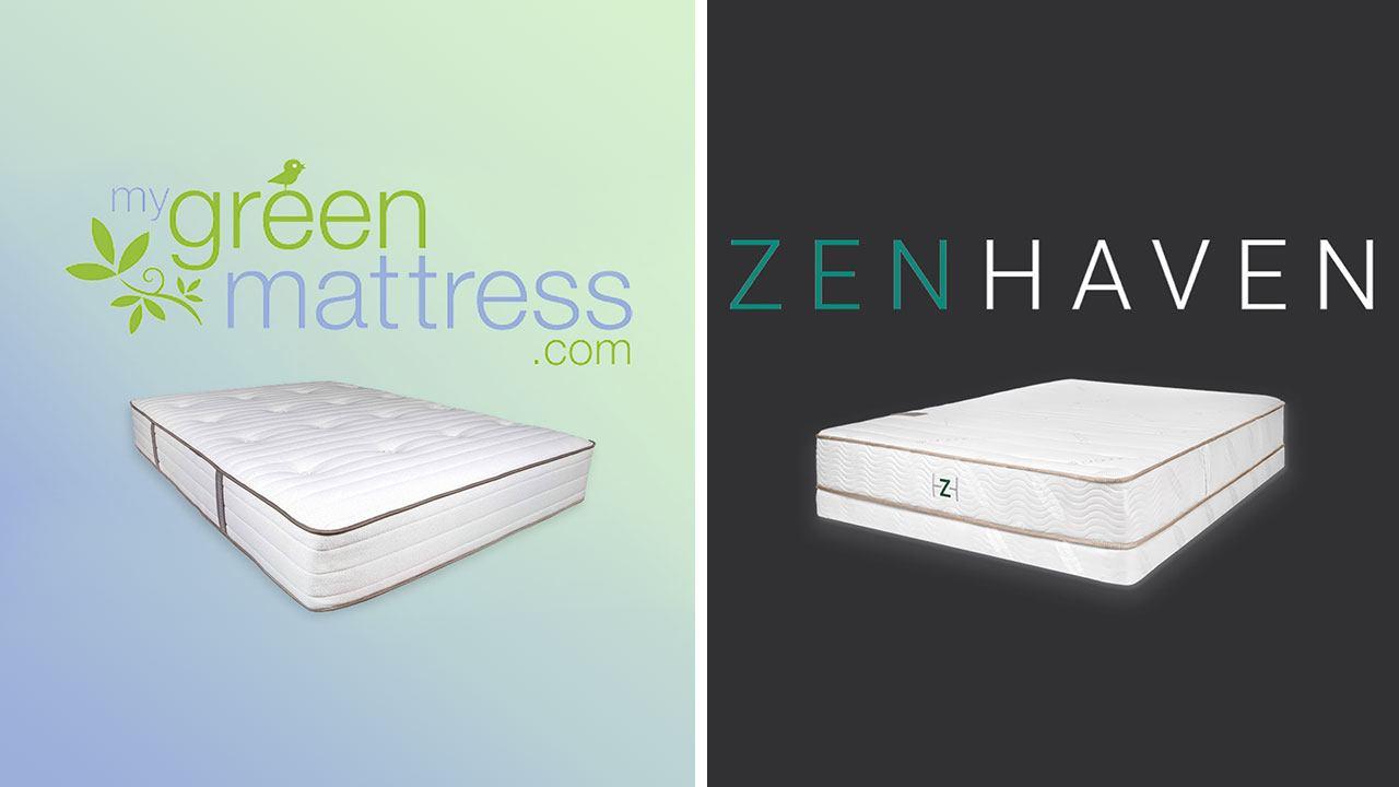 My Green Mattress vs Zenhaven