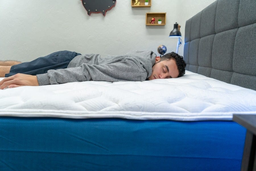 mypillow mattress review stomach sleper