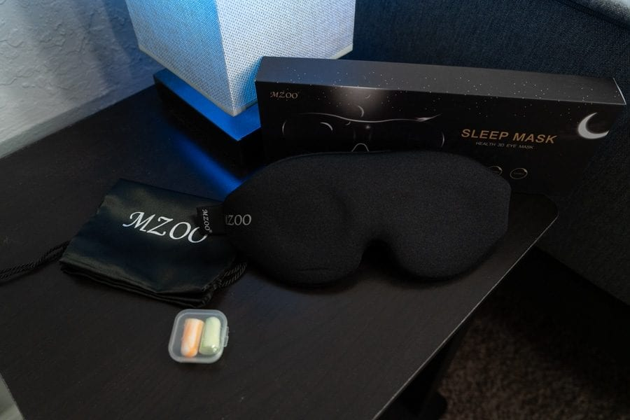 Mzoo Sleep Mask Overview And Packaging