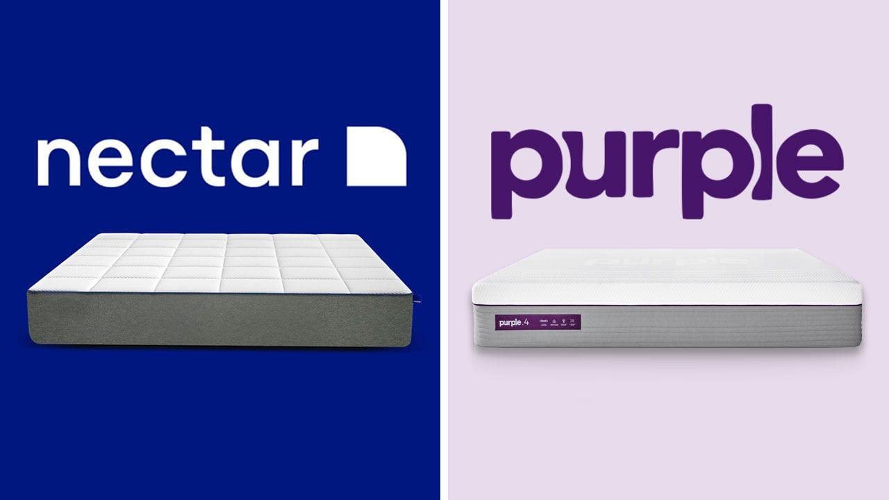 Nectar vs Purple Mattress Comparison (Updated Review)