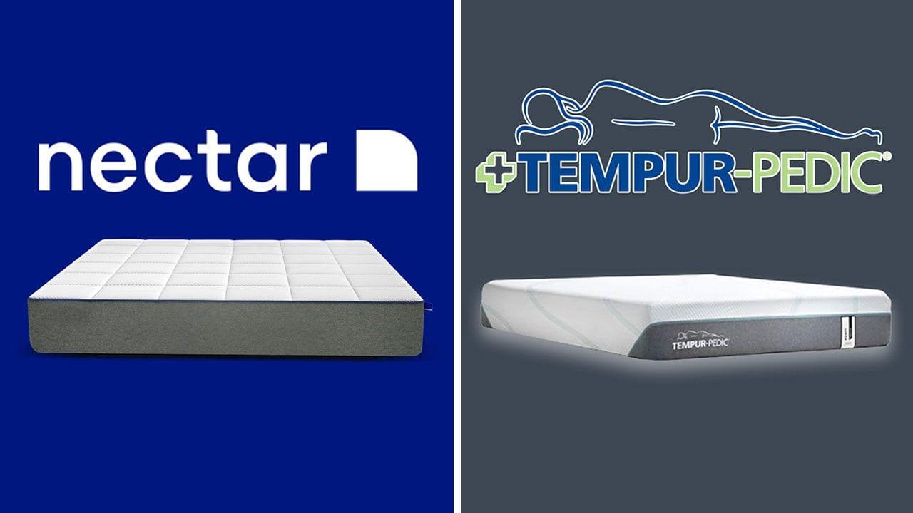 premium selection 44b67 43711 Nectar vs TempurPedic - Memory Foam Mattress (Reviews)