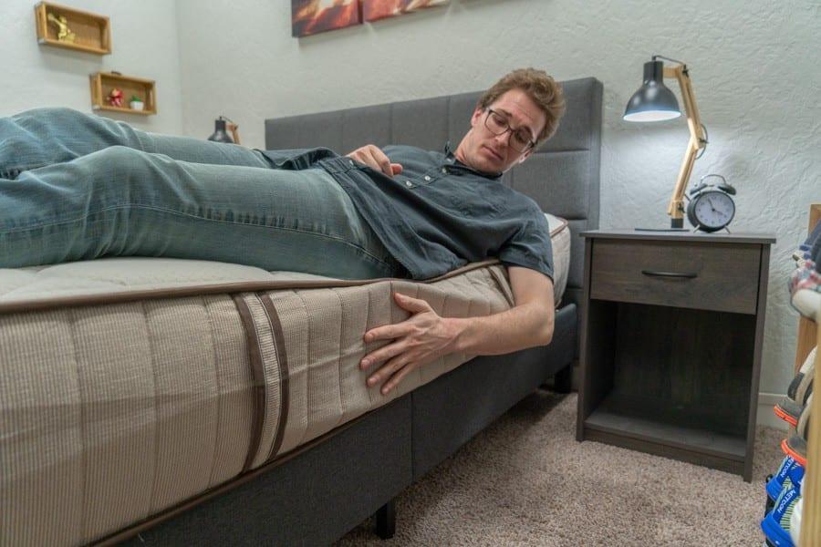 nest bedding alexander mattress review flippable edge support