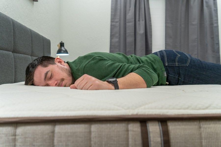 nest bedding alexander signature mattress review stomach sleepers luxury foam bed