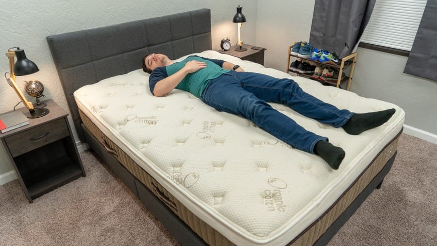 nest hybrid latex mattress review back sleepers