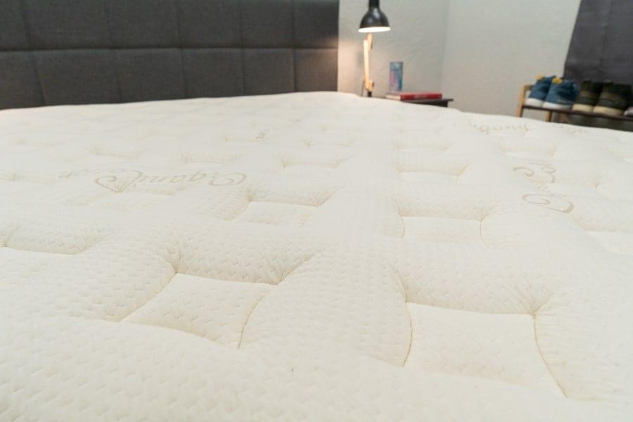 Nest Bedding Latex Hybrid cover
