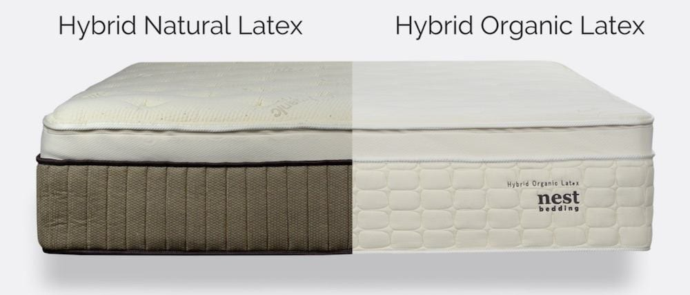 nest hybrid latex mattress review organic and natural mix