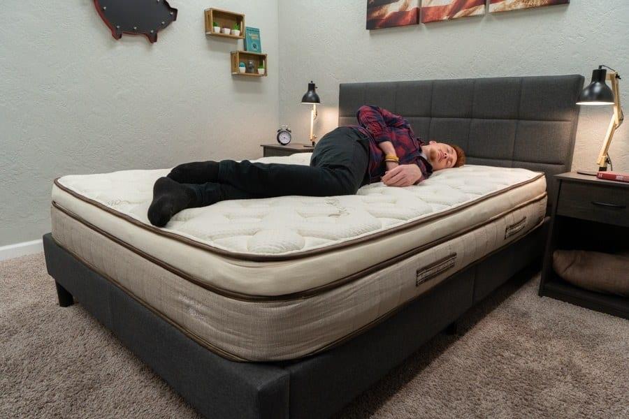 Nest Bedding Latex Mattress Side Sleeper