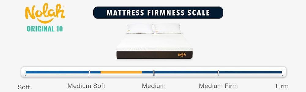 nolah mattress review original firmness level